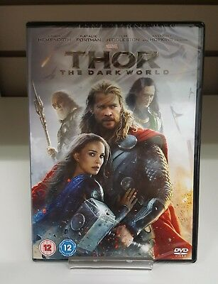 Thor The Dark World DVD Marvel - New and Sealed - Fast and Free Delivery