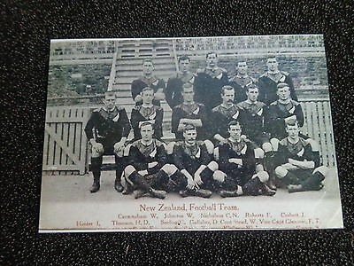 """NEW ZEALAND  RUGBY UNION  TEAM  EARLY  1900s      6""""x4""""  Photo REPRINT"""