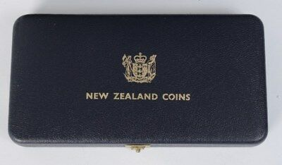 New Zealand: 1968 Proof (Polished) Set in Plush Cased, Cat $25