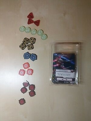 X-Wing promo tokens and cards