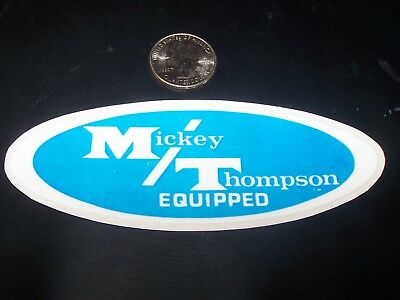 Large 6 Inch - M/t - Mickey Thompson Equipped  - Sticker