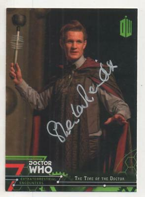 """Dr Who Topps Extraterrestrial Card No.91 Auto by Sheila Reid """"Gran"""""""
