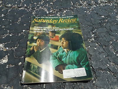 JAN 24 1970 SATURDAY REVIEW magazine - AMERICAN INDIANS AT SCHOOL