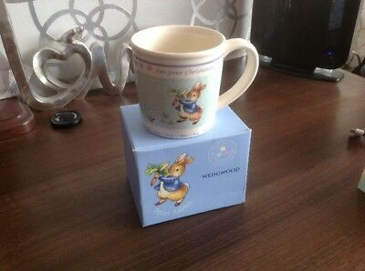 Wedgwood Peter Rabbit Christening Cup
