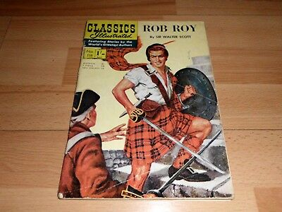 Classics Illustrated 118 Rob Roy (1954)
