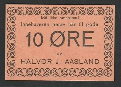 10 Ore From Norway Unc  C1