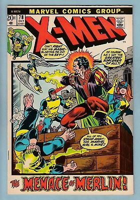 X-MEN # 78 FNVF (7.0)  GLOSSY HIGHER GRADE US CENTS COPY - 1972 - 99p START