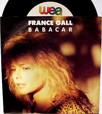 """France Gall: """" Babacar """" 1987 D"""