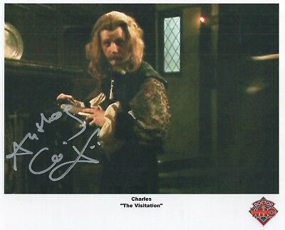 """Doctor Who Auto Photograph Anthony Calf """"Charles"""""""