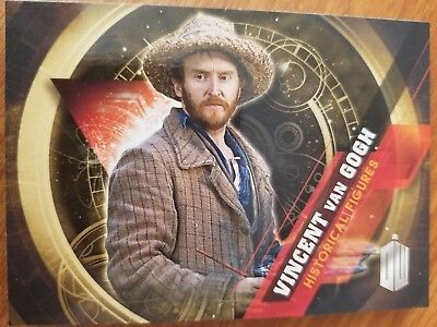 2016 Topps Doctor Who Timeless #7 Vincent Van Gogh Historical Figures