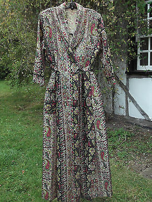 VINTAGE1940\'S DRESSING Gown/Housecoat/Robe ~ Stunning Style ~ Movie ...
