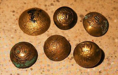 ROYAL NAVY DOCK YARD BERMUDA - Dive Recovered Royal Sappers & Miners Buttons