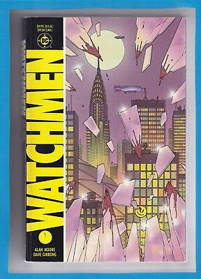 WATCHMEN TRADE PAPERBACK_1987_VERY FINE_2nd PRINT_FRANK MILLER_DAVE GIBBONS!