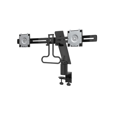 Dell MDA17 MDA17 Clamp Black flat panel desk mount Dual Monitor Arm