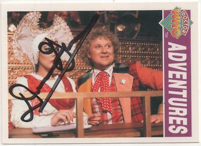 "Dr Who Cornerstone Card No.51 Auto by Dominic Glynn ""Incidental Music"""