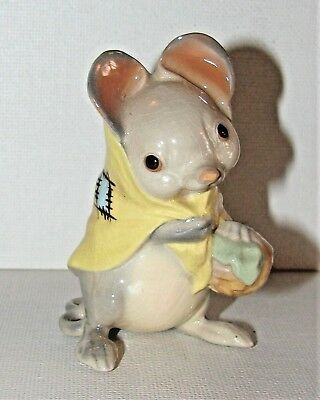 Scarce Hagen Renaker San Marcos DW Country Mouse Mama Figurine Darling!