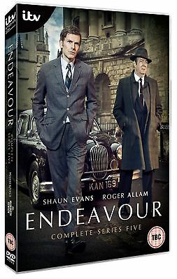 Endeavour Season 5 Series Five Fifth New DVD Box Set Region 4 IN STOCK NOW