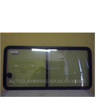 Kia Pregio - Van 8/02>1/06 - Left Side Sliding Window Unit Glass - New (Rubber I