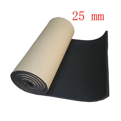 1Roll 25mm Car Sound Proofing Deadening Insulation Closed Cell Foam Noise JQ
