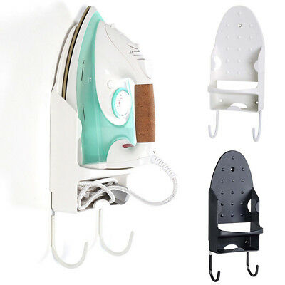 Wall Mounted  Iron Board Hook Holder Storage Organizer Rack Hanger For Ironing