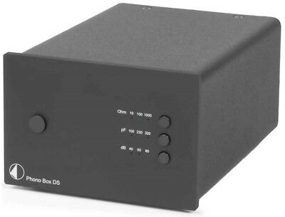 Pro-Ject Phono Box DS Preamplifier (Black)