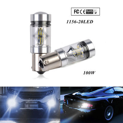New CREE XBD 100W 1156 S25 P21W BA15S LED Backup Light Car Reverse Bulb Lamp L7