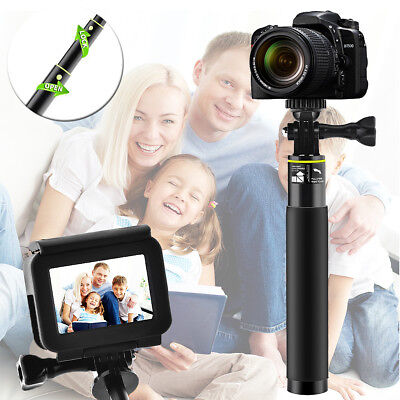 Voice Control Selfie Stick Adjustable Telescoping Monopod Pole for Gopro Hero 5