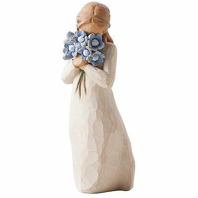 Willow Tree FORGET ME NOT   Figurine Ornament By Susan Lordi 26454