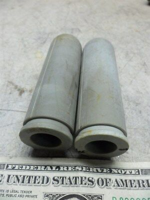 2 SORVALL CENTRIFUGE INSERTS CAT 402-16mm ID -28 mm OD-99mm LONG
