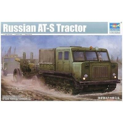 75f46dfefbe8 Trompettiste 1 35 - At-s Soviétique - Trumpeter 09514 135 Russian Ats  Tractor