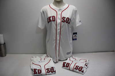 Majestic Lot of 6 Youth Size S-XL Red Sox Chris Sale Jerseys