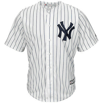 MLB Baseball Trikot New York NY Yankees weiß Home Cool base Majestic Jersey