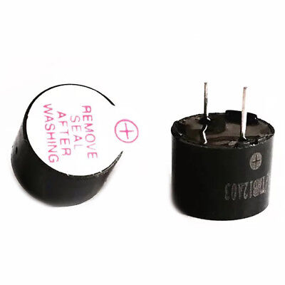 Diameter 12mm Voltage1.5V Integrate Active Electromagnetic Buzzer Height 9.5mm