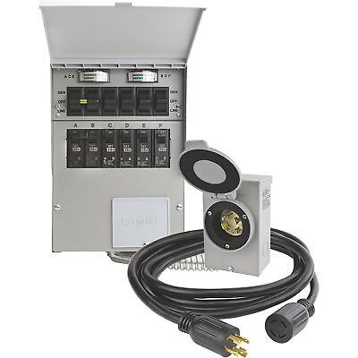Reliance Transfer Switch Kit- 6 Circuits Model# 306CRK