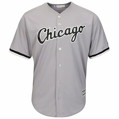 MLB Baseball Trikot Chicago White Sox grau Road Cool base Majestic Jersey