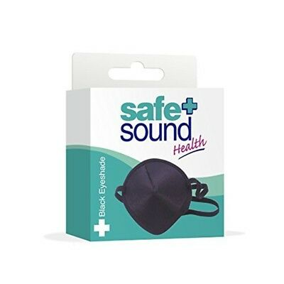 Safe & Sound Black Eyeshade Srt - Schwarzer Sicherer Ton Eyeyshade Safe
