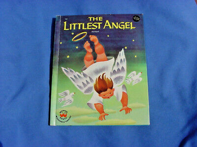 Vintage Wonder Book The Littlest Angel 1960 Charles Tazewell