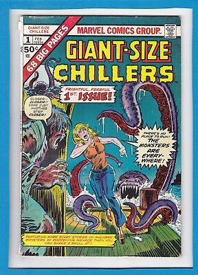 Giant-Size Chillers #1_Feb 1975_Very Good Minus_Frightful, Fearful First Issue!