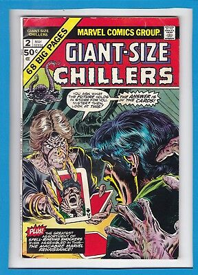 Giant-Size Chillers #2_May 1975_Very Good Minus_Bronze Age Marvel Horror!