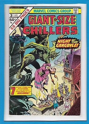 Giant-Size Chillers #3_August 1975_Very Good Minus_Bronze Age Marvel Horror!