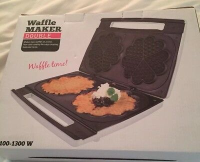 Double waffle maker....Brand New, Never been out of the box