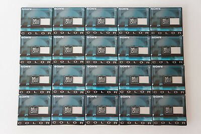 20 X Original SONY COLOR MIX MDW74CRB Digital Audio MiniDisc/MD 74min. NOS/OVP