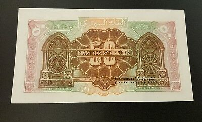 Syria Syrie 50 Piasters 1-8-1919 Lebanon liban Specimen Uncirculated Rare
