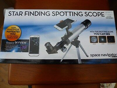 Star Finding Telescope Bnib Smartphone Conecting Apple Android Unwanted Gift