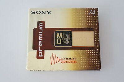 SONY Premium Shock Absorbing Mechanism Digital Audio MiniDisc/MD 74min. NOS/OVP