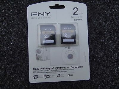PNY 2 Pack 2GB SD Card