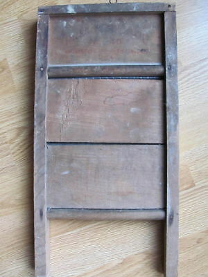 Antique Sm Scrub Board Columbus Washboard Co #46 Kansas City, MO Tiffin Ohio USA