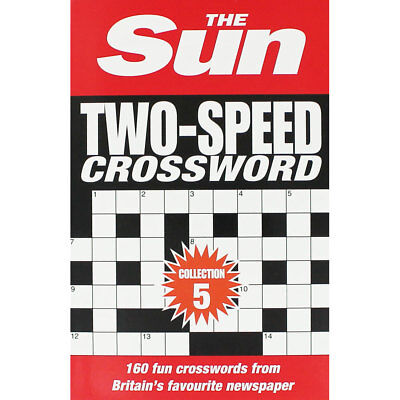 The Sun - Two-Speed Crossword - Collection 5 (Paperback), Non Fiction Books, New