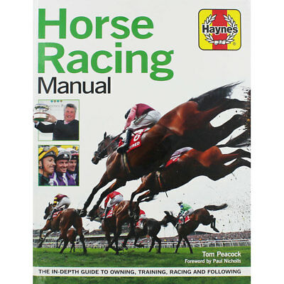 Haynes - Horse Racing Manual by Tom Peacock (Paperback), Non Fiction Books, New