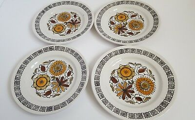 Kathie Winkle Calypso Broadhurst Pottery Plates  Great condition